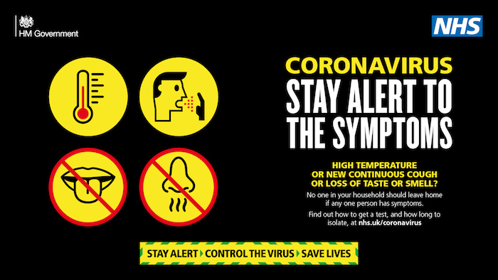 Coronavirus. Got Symptoms? Get Tested!
